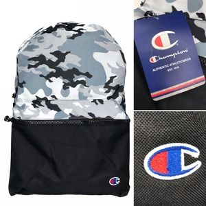 Champion camouflage backpack travel school bag